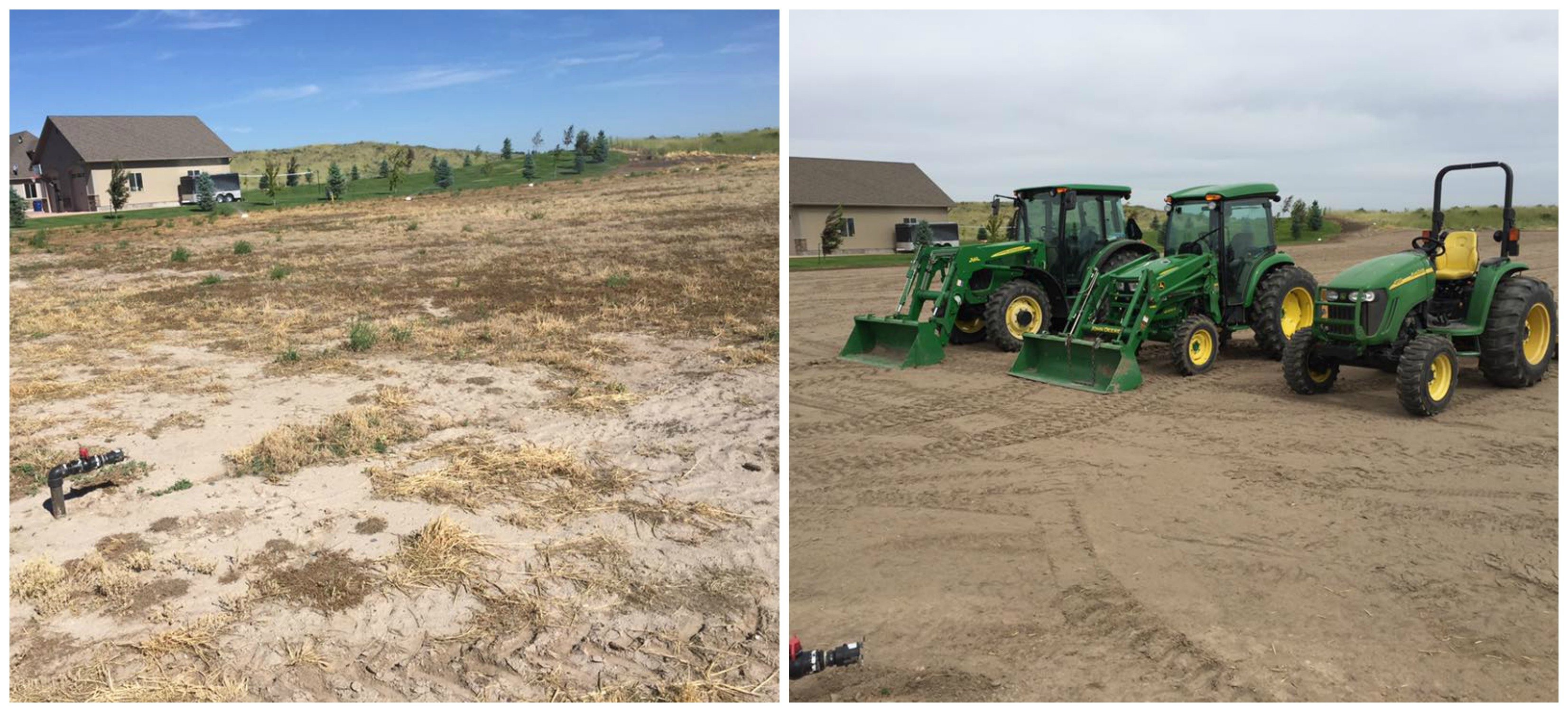 Landscape Prep Before and After - Landscape Prep Idaho Falls